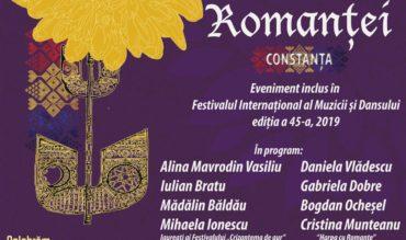 """Concertul extraordinar """"Comori ale Romanței"""" – la Teatrul de Operă și Balet """"Oleg Danovski"""" din Constanța"""