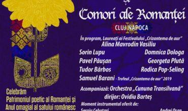 """Concertul Extraordinar """"Emoții de toamnă și Comori ale Romanței"""" la Cluj-Napoca"""