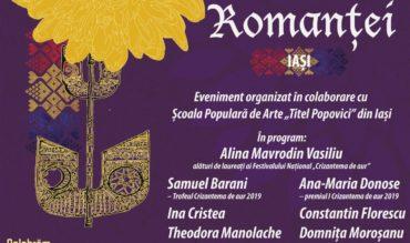 """Concertul extraordinar """"Comori ale Romanței"""", la Teatrul """"Luceafărul"""" din Iași"""
