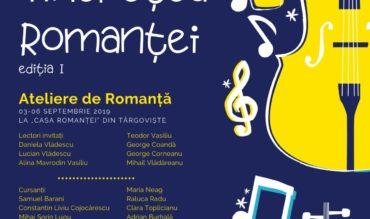 Academia Tinerețea Romanței, ediția I, în perioada 3-7 septembrie 2019