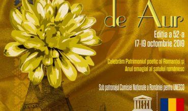 """Comunicat de presă – Festivalul """"Crizantema de Aur"""", ediţia a 52-a, 2019"""