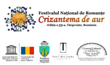 """Anunț Rezultatele preselecției naționale pentru Concursul de Creație al Festivalului Național """"Crizantema de aur"""", ediția a 53-a, 2020"""